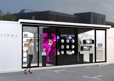 Boutique éphémère – Arthès